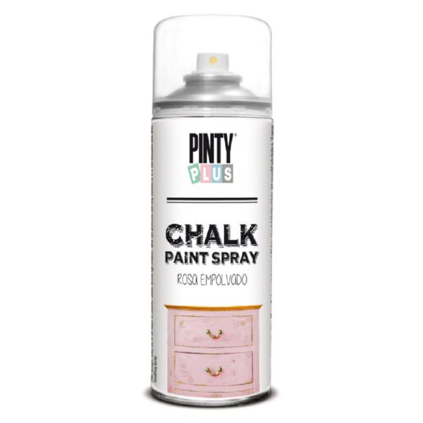Pintura en spray Chalk.