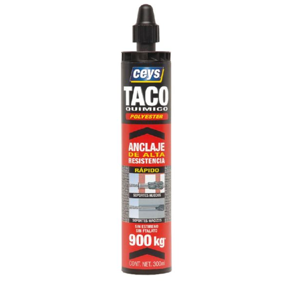 ANCLAJE QUIMICO POLYESTER 300 ML. CEYS