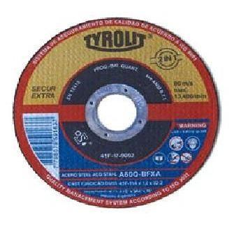 DISCO DESBASTE METAL 125X6X22.2 A24-BF 27X XPFERT TYROLIT