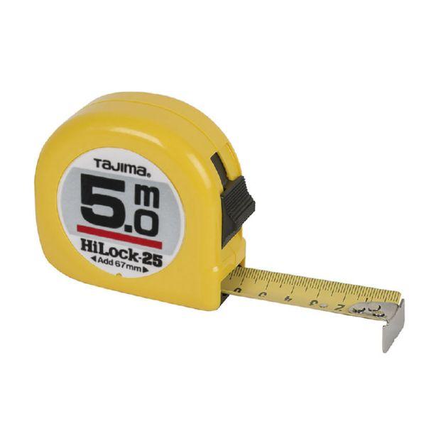 FLEXOMETRO HI-LOCK-25 5M AMA.TAJIMA