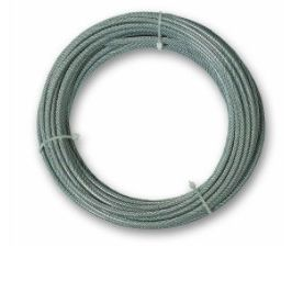 MTS.CABLE ACERO GALV. 6X19+1 6MM